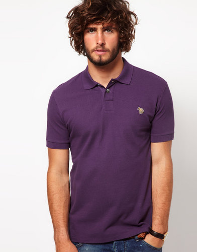 Paul Smith Jeans Pique Zebra Polo