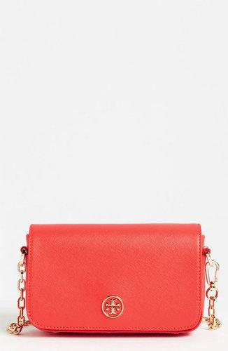 Tory Burch 'Robinson - Mini' Saffiano Leather Crossbody Bag