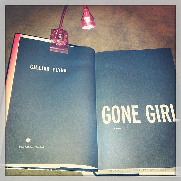 """Deepa44 is """"obsessed"""" with Gone Girl."""