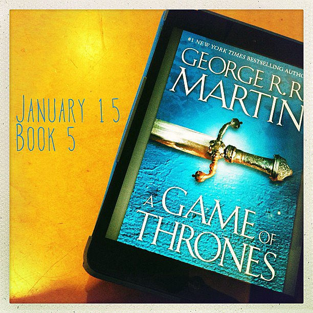 Skotjay shared a pic of A Game of Thrones by George. R. R. Martin.