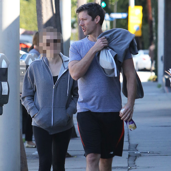 Guess Which Actress Headed to the Gym With Her Fiancé?