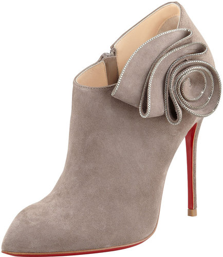 Christian Louboutin Mrs. Baba Suede Bootie