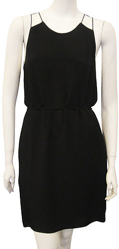 3.1 Phillip Lim Sleeveless Dress With Kite Wings In Black