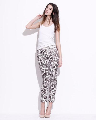 Diane von Furstenberg Floral-Print Skinny Jeans