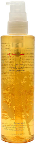 Red flower purifying body wash, indian jasmine 8 oz (237 ml)