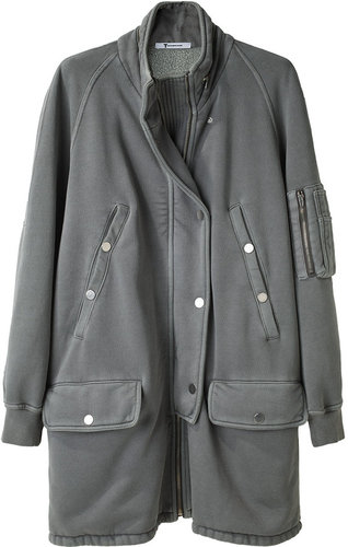 T by Alexander Wang / Sweatshirt Parka Jacket