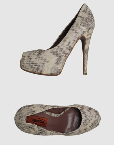 MISSONI Pumps with open toe