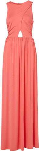 Wrap Jersey Maxi Dress