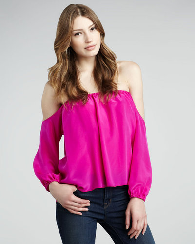 Boulee Audrey Cold-Shoulder Top