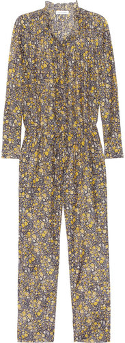 Étoile Isabel Marant Jane floral-print cotton and silk-blend jumpsuit