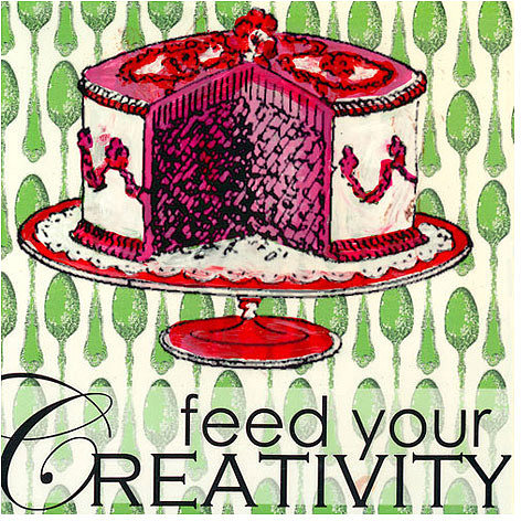 Feed Your Creativity Canvas Reproduction