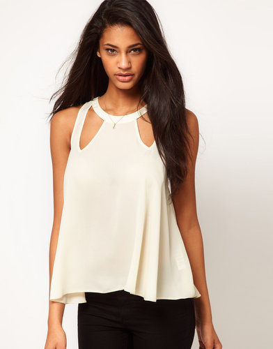 ASOS Swing Top With Cut Out Details