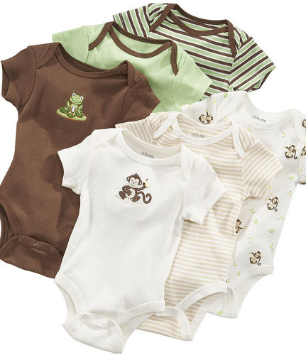 Little Me Baby Set, Baby Boys Set of 3 Bodysuits
