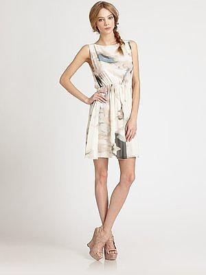 Lou Blouson Dress