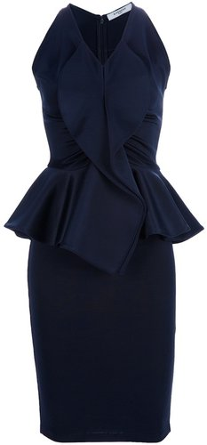Givenchy peplum dress
