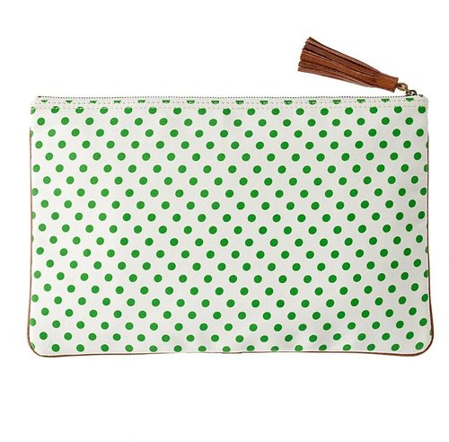 The dots & stripes telegram clutch