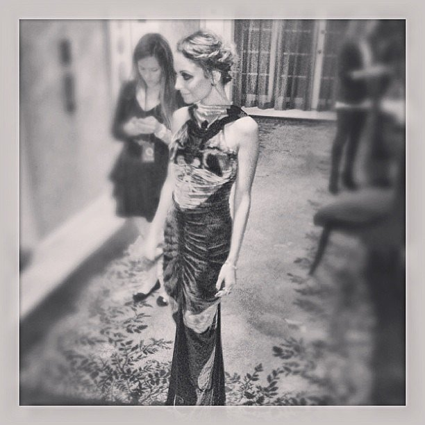 Nicole Richie left the QVC party on Friday in LA. Source: Instagram user nicolerichie