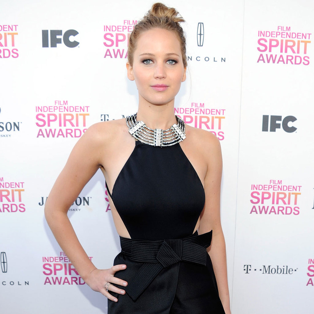 Jennifer lawrence spirit awards certainly. These