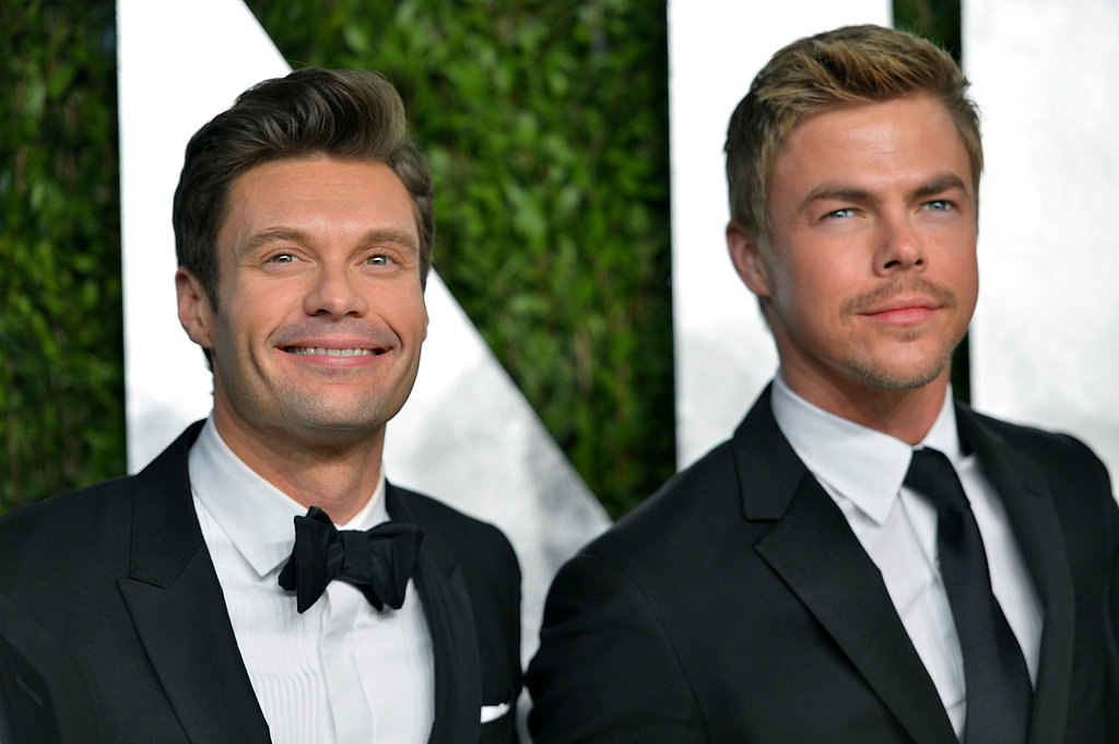 Ryan Seacrest bonded with his girlfriend Julianne's brother, Derek Hough.