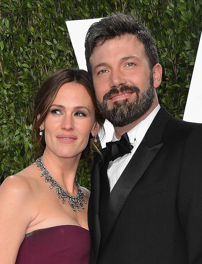 Jennifer Garner and Ben Affleck arrived at the Vanity Fair Oscar party.