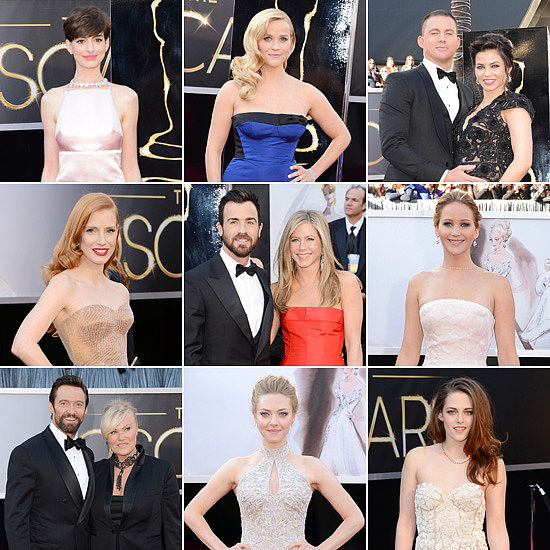 See All the Celebrities Arriving on the Oscars Red Carpet