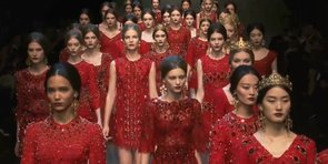Feast Your Eyes on Dolce & Gabbana Fall 2013