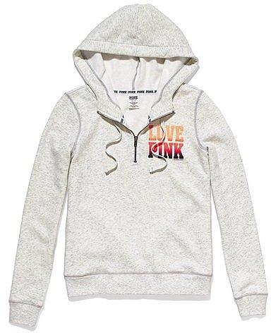 PINK Half-Zip Hoodie