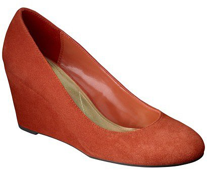 Merona Melinda Wedge Orange