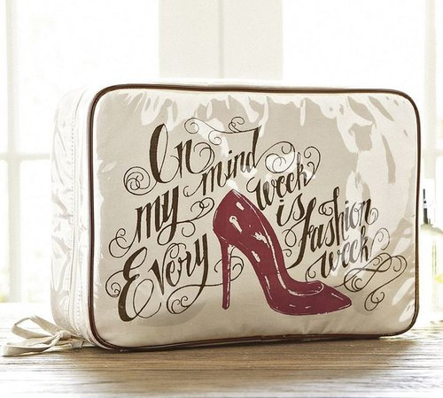 Red Shoe Ultimate Cosmetic Bag