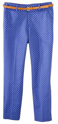 Merona® Women's Tailored Ankle Pant w/Belt (Fit 2) - Amparo Blue