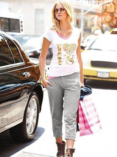 Supermodel Essentials Fleece Button Front Pant