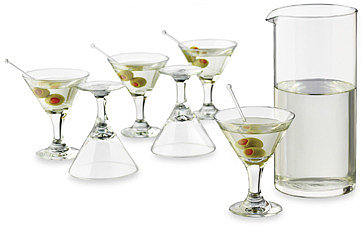 Libbey® Just Cocktails 7-Piece Mini Martini Set