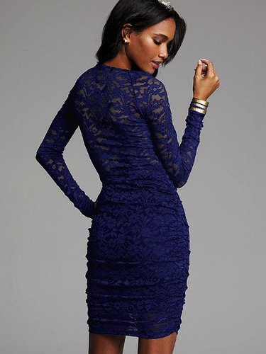 Lace V-neck Dress