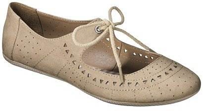 Women's Mossimo Supply Co. Layne Flats - Taupe