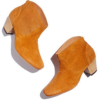 H by hudsonTM embossed booties