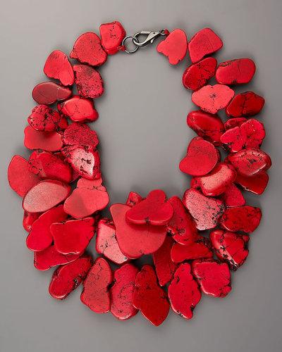 Nest Chunky Stone Necklace