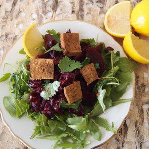 Spicy Beet Salad With Tofu