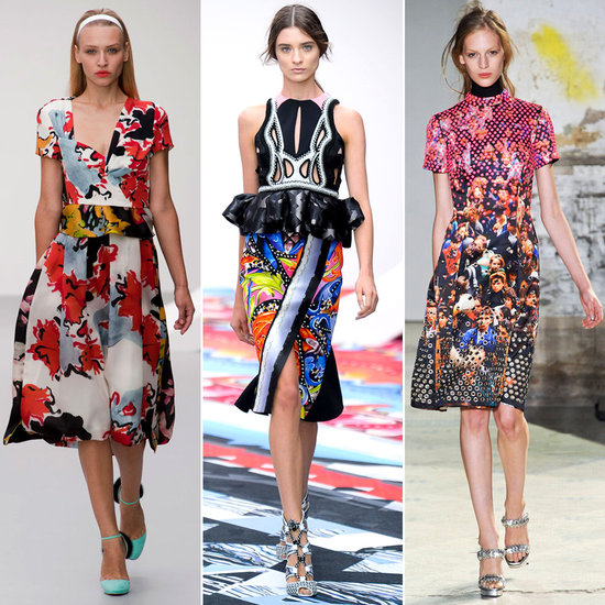 Don't Be Shy: How to Pull Off Bold Prints For Spring '13