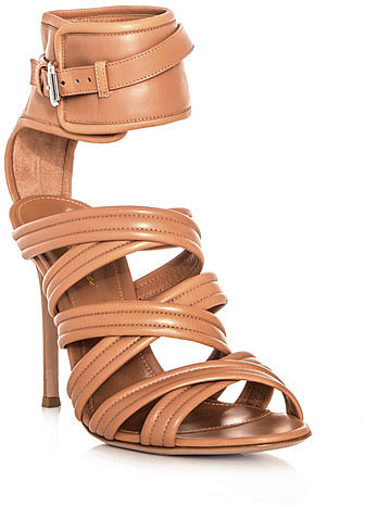 Gianvito Rossi Strappy leather ankle strap sandals