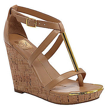 DV by Dolce Vita Tremor T-Strap Wedge Sandals
