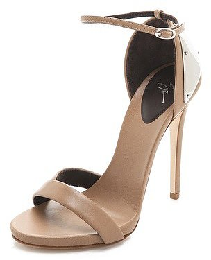 Giuseppe zanotti Ankle Strap Sandals with Metal Detail