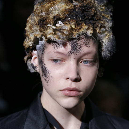 Comme des Garcons Hair and Makeup | Fashion Week Fall 2013