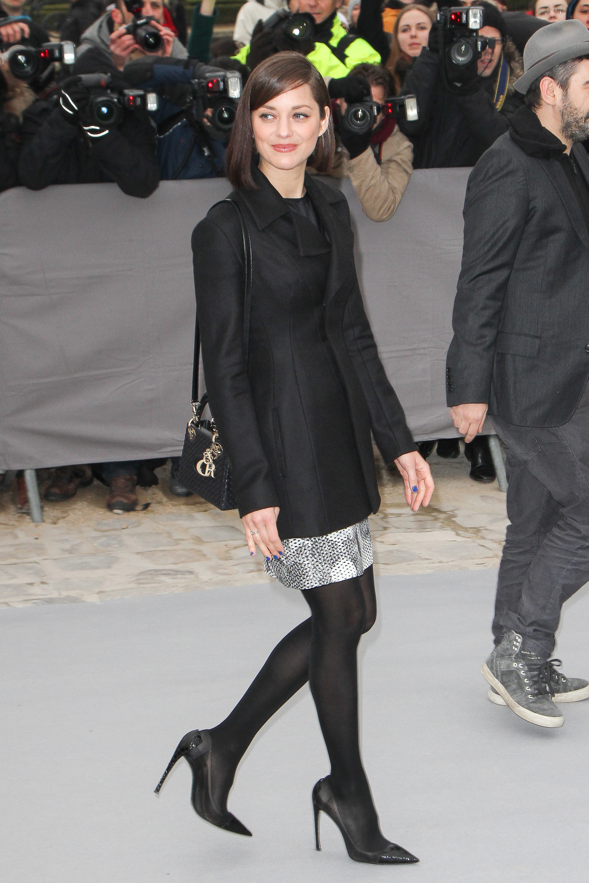 Christian Dior Fashion Week Marion Cotillard
