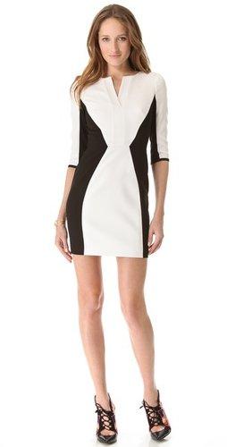 Black halo Terri Contrast Dress