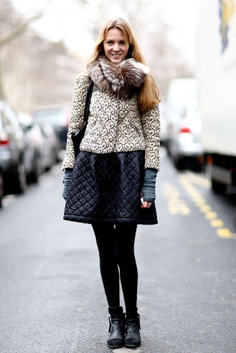 Paris Fashion Week Street Style Fall 2013
