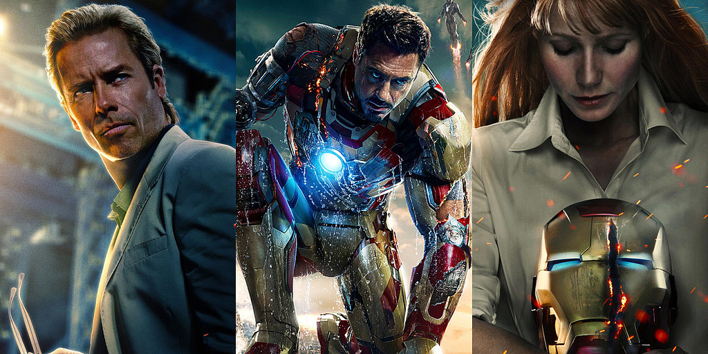 See Robert Downey Jr. and Gwyneth Paltrow in All the Posters For Iron Man 3