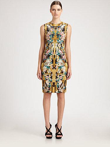 Alexander McQueen Dragonfly Jersey Dress