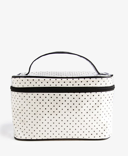 FOREVER 21 Polka Dot Cosmetic Bag