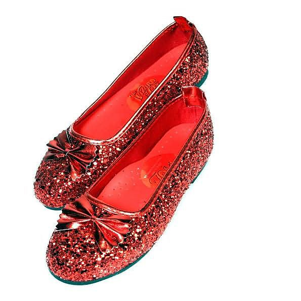 Dorothy's Ruby Red Slippers