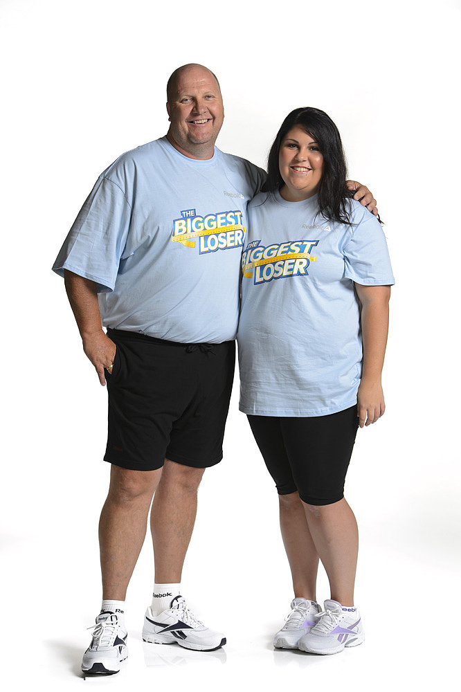 Richard and Amber-Rose (Blue Team)